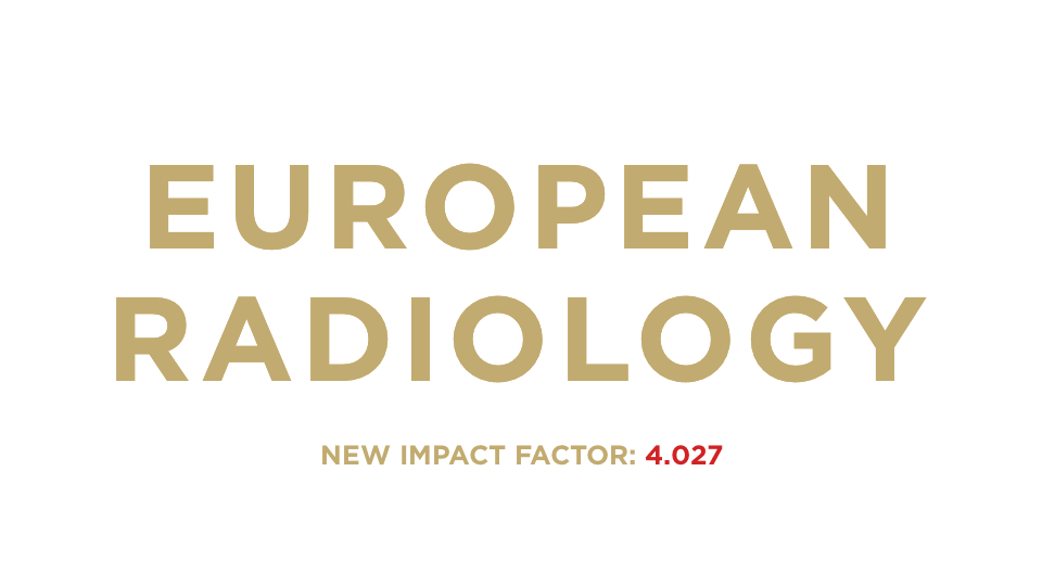 European Radiology logo 1