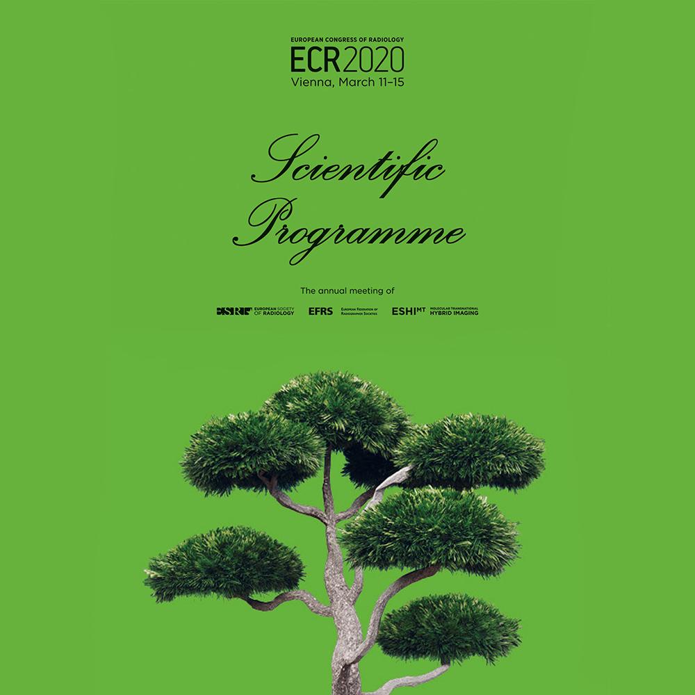 ECR 2020 Final Programme cover