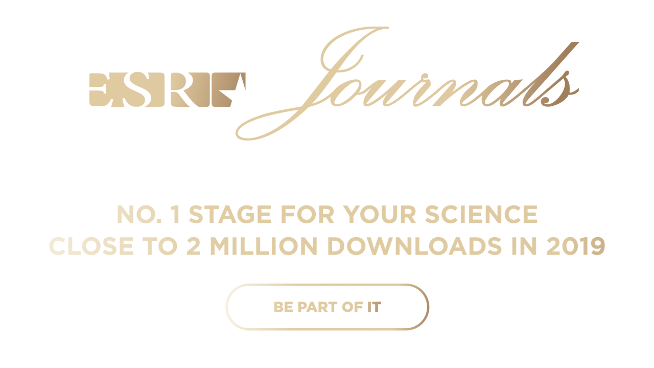 ESR Journals - No. 1
