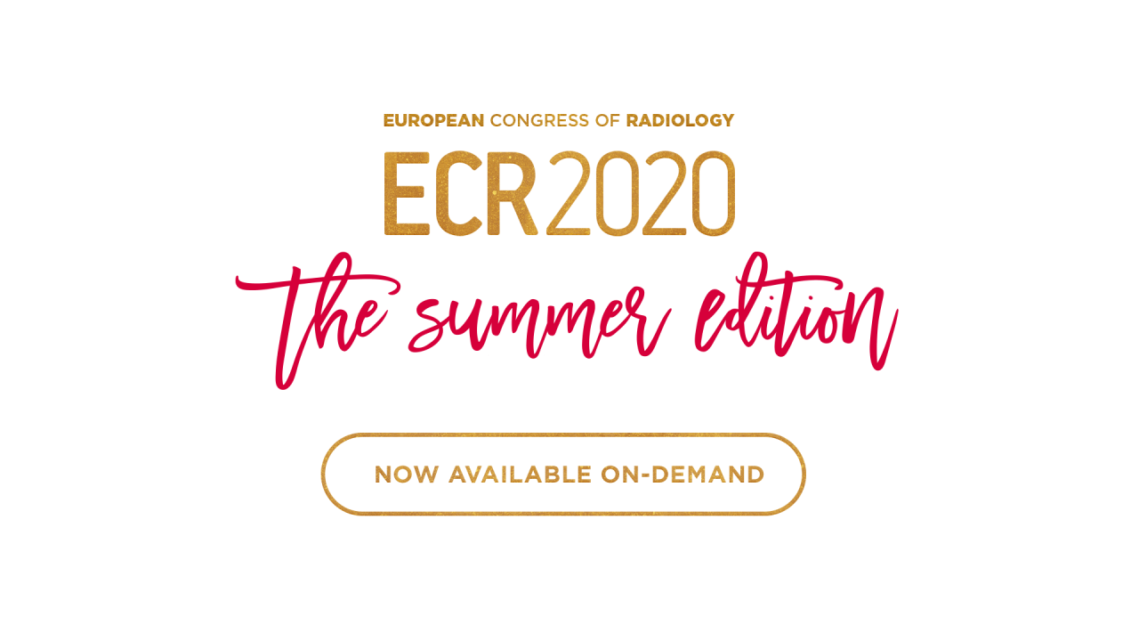 ECR 2020 Now available on-demand