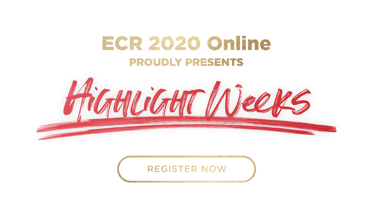 ECR 2020 Highlight weeks