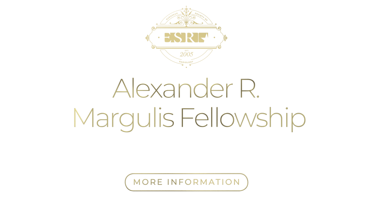 ESR Alexander Margulis Fellowship