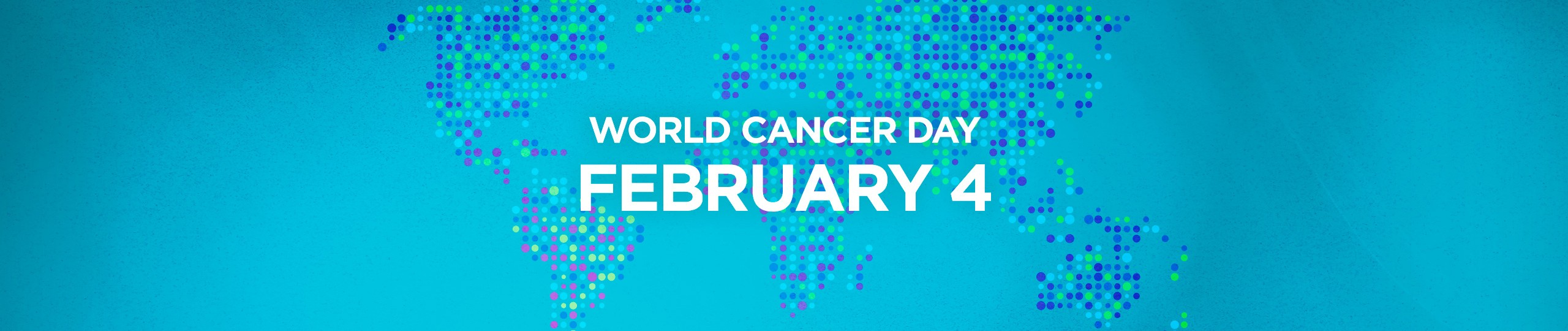 world cancer day banner
