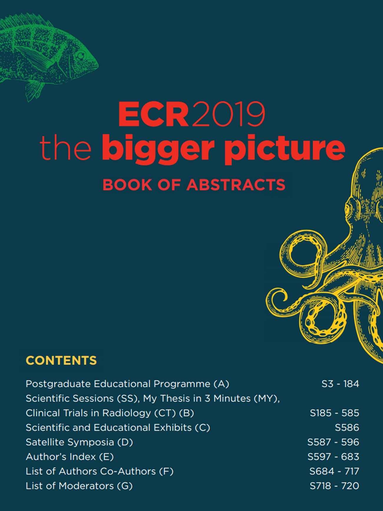 ECR 2019 | European Society of Radiology