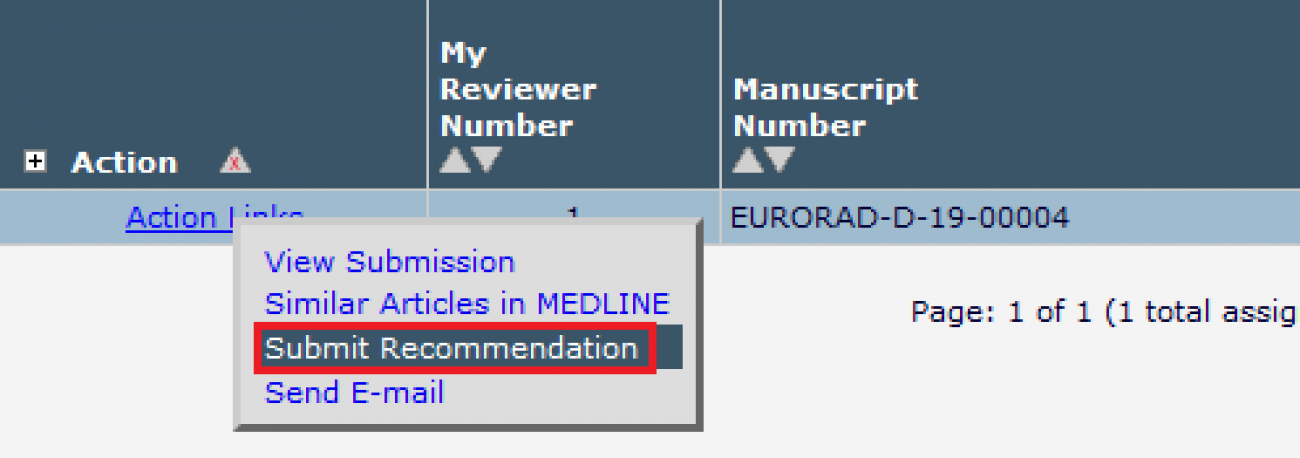 EURORAD Guidelines for Reviewers | European Society of Radiology